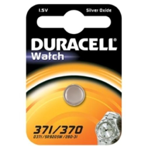 Duracell D371 Silver-Oxide (S) 1.5V non-rechargeable battery