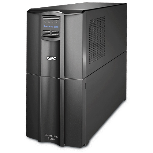APC Smart-UPS Line-Interactive 3000VA 9AC outlet(s) Tower Black uninterruptible power supply (UPS)