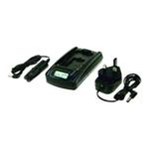 Duracell Ultra Fast Battery Charger Auto/Indoor battery charger Black