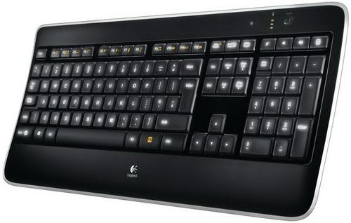 Logitech K800 RF Wireless QWERTY UK English Black keyboard