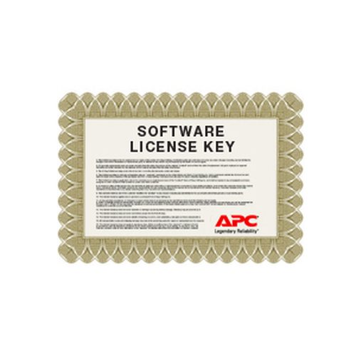 APC NBSV1010 software license/upgrade 10 license(s)