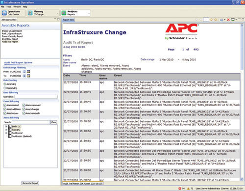 APC AP9710 service management software