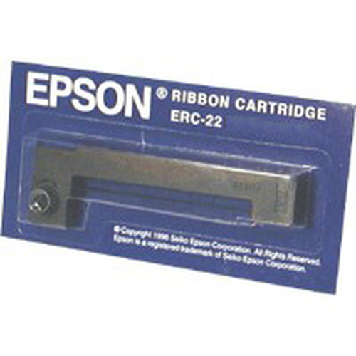 Epson ERC22B Ribbon Cartridge for M-180/190 series, longlife, black