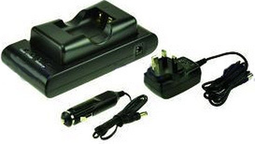 2-Power DBC9576A Auto/Indoor battery charger Black battery charger
