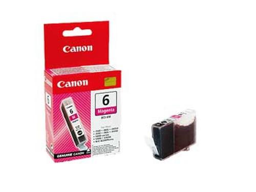 Canon BJ Cartridge BCI-6M Magenta Original