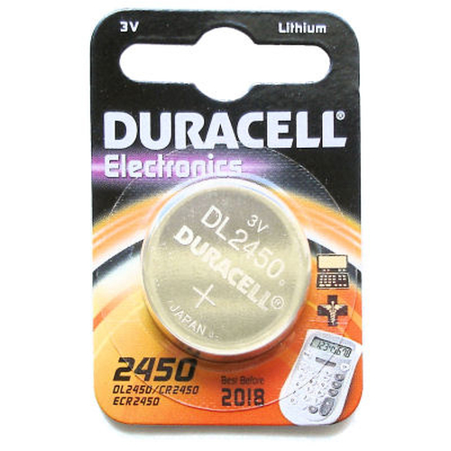 Duracell DL2450 Lithium 3V non-rechargeable battery