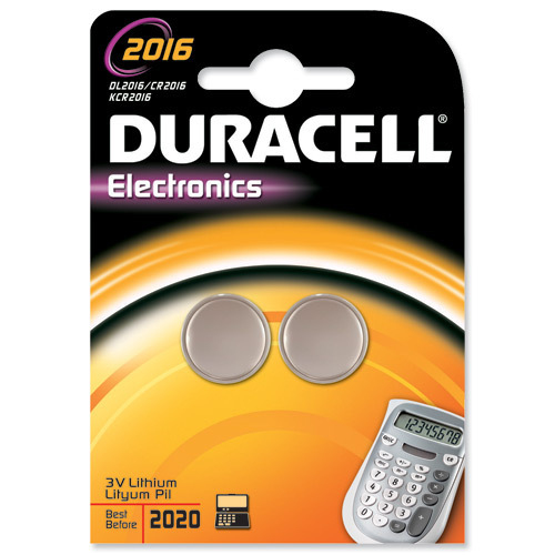 Duracell DL2016B2 household battery Single-use battery Lithium