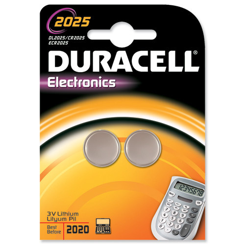 Duracell DL2025B2 household battery Single-use battery Lithium
