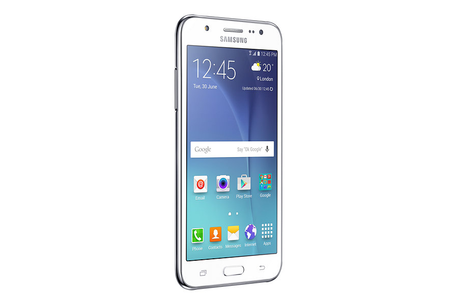 Product Datasheet Samsung Galaxy J5 Sm J500f 12 7 Cm 5 4g Micro Usb 1 5 Gb 8 Gb 2600 Mah White Smartphones Sm J500fzwatur
