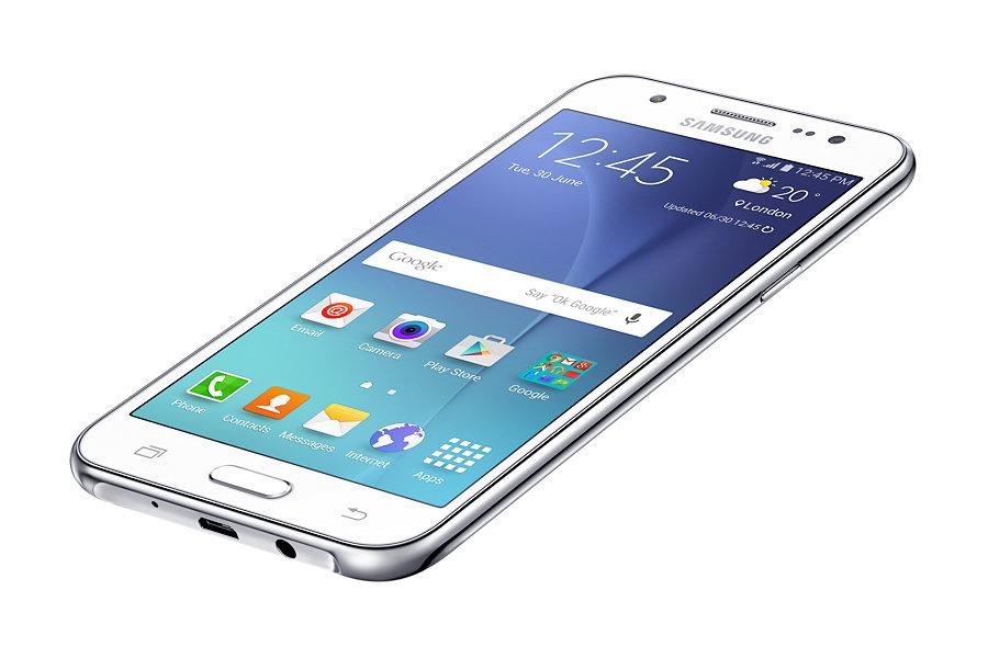 Specs Samsung Galaxy J5 Sm J500f 12 7 Cm 5 4g Micro Usb 1 5 Gb 8 Gb 2600 Mah White Smartphones Sm J500fzwatur