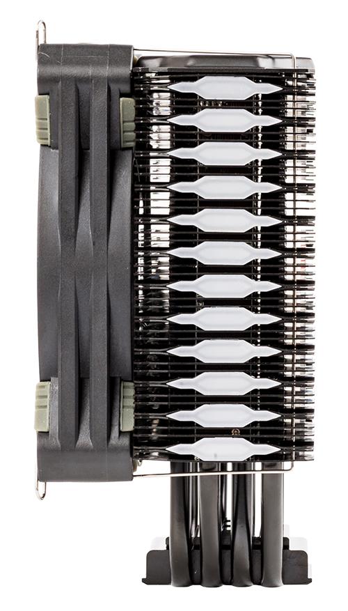 Dissipatore cpu belzer rgb - socket universale, 4