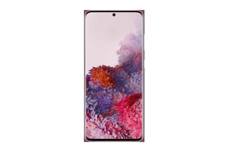 Specs Samsung Galaxy S20 15 8 Cm 6 2 Android 10 0 5g Usb Type C 8 Gb 128 Gb 4000 Mah Pink Smartphones Sm G980fzideue