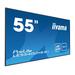 LCD Digital Signage 54.6in ProLite LE5540UHS-B1/ Thin Bezel AMVA3 LED 3840x2160 (UHD-1) Black