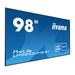 Digital Signage Display - ProLite LH9852UHS-B1 - 98in - 3840x2160 (UHD) - Black