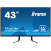 iyama 43i  3840x2160 UHD  IPS  4ms  450cd/m  HDMIx2