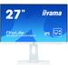 Desktop Monitor - ProLite XUB2792HSU-W1 - 27in - 1920x1080 (FHD) - White
