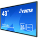 Digital Signage Display - ProLite LH4342UHS-B1 - 42.5in -  3840x2160 (UHD) - Black