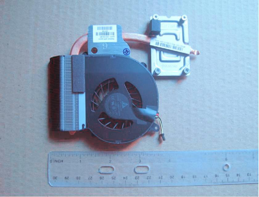 HP 647316-001 Processore Refrigeratore ventola per PC