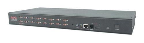 APC 16 Port Multi-Platform Analog KVM 1U Nero switch per keyboard-video-mouse (kvm)