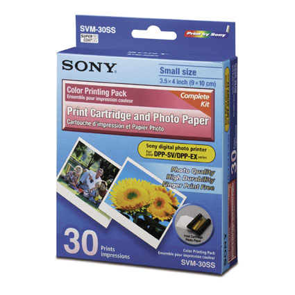 "Sony 3.5"" x 4"" Photo Paper carta fotografica"