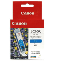 Canon BCI-5C Cyan Ink Cartridge Ciano cartuccia d