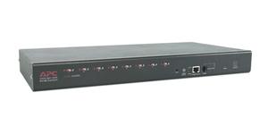 APC 8 Port Multi-Platform Analog KVM 1U switch per keyboard-video-mouse (kvm)