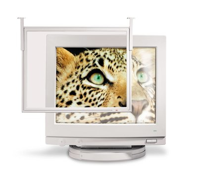"3M EF200XL 18"" PC Framed display privacy filter"