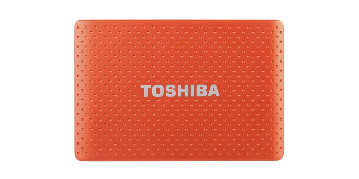 Toshiba 750GB STOR.E PARTNER 750GB Arancione disco rigido esterno