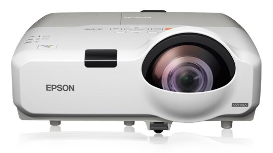 Epson EB-420EDU Projector 2500 ANSI lumens LCD XGA 1024x768 9398 - 27432 mm 37 - 108