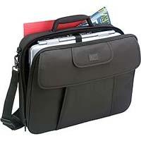 "Case Logic Black Nylon Notebook Case 17"" Valigetta ventiquattrore Nero"