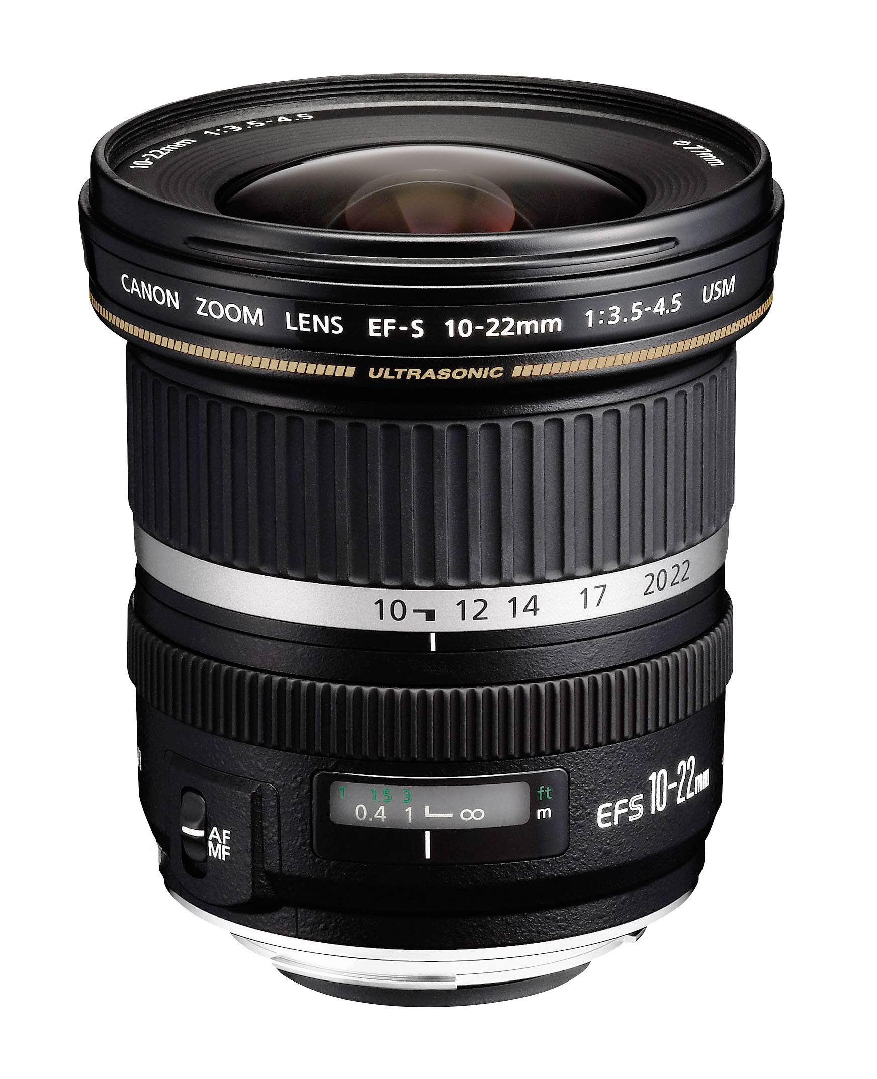 Canon EF-S 10-22mm f/3.5-4.5 USM SLR Wide zoom lens Nero