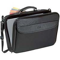 "Case Logic Basic Laptop Case 15.4"" with extra compartment 15.4"" Valigetta ventiquattrore Nero"