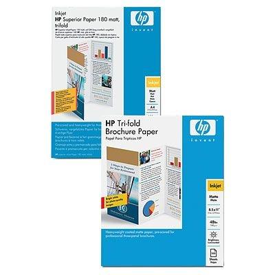 HP Q6590A A4 (210×297 mm) Opaco Bianco carta inkjet