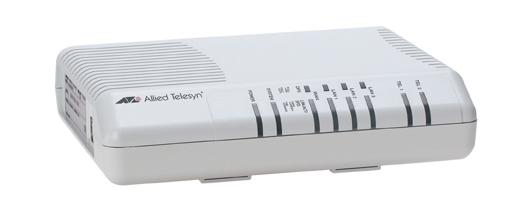 Allied Telesis Residential gateway, 3x 10/100TX LAN, 2x FXS, 1x 100TX WAN port gateway/controller