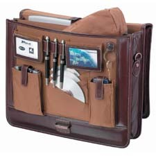 "Targus Ambassador Notebook Attaché 15.4"" Marrone"