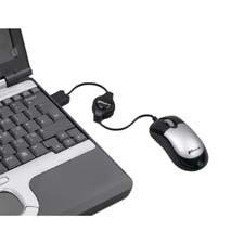 Targus Mini Optical Retractable Netbook Mouse USB Ottico 800DPI mouse