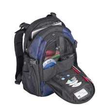"Targus Campus Notebook Backpac 15.4"" Zaino Blu"