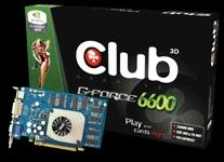 CLUB3D GeForce 6600 256MB GDDR