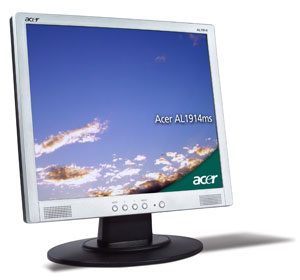 """Acer AL1914ms,19"""" LCD with speaker, analog - TCO"""