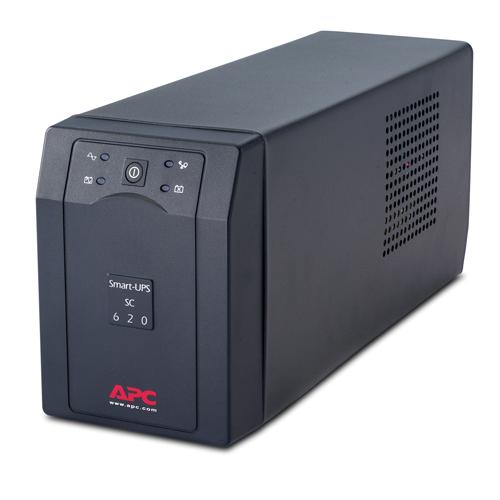 APC Smart-UPS A linea interattiva 620VA 4AC outlet(s) Torre Grigio gruppo di continuità (UPS)