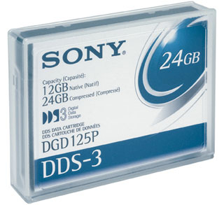 Sony DDS3 4mm data cartridge DDS