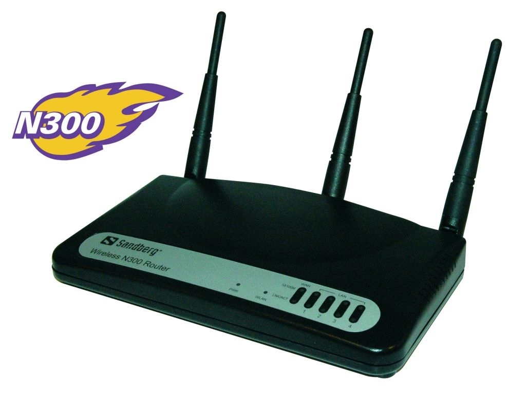 Sandberg Wireless N300 Router