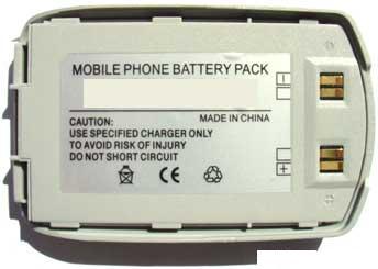 Samsung Accu D410 Li-Polymer 600mAh 3.6V batteria ricaricabile