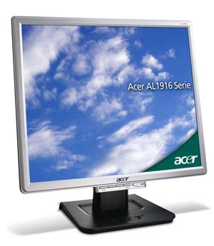 """Acer AL1916Nvs 19"""" monitor piatto per PC"""