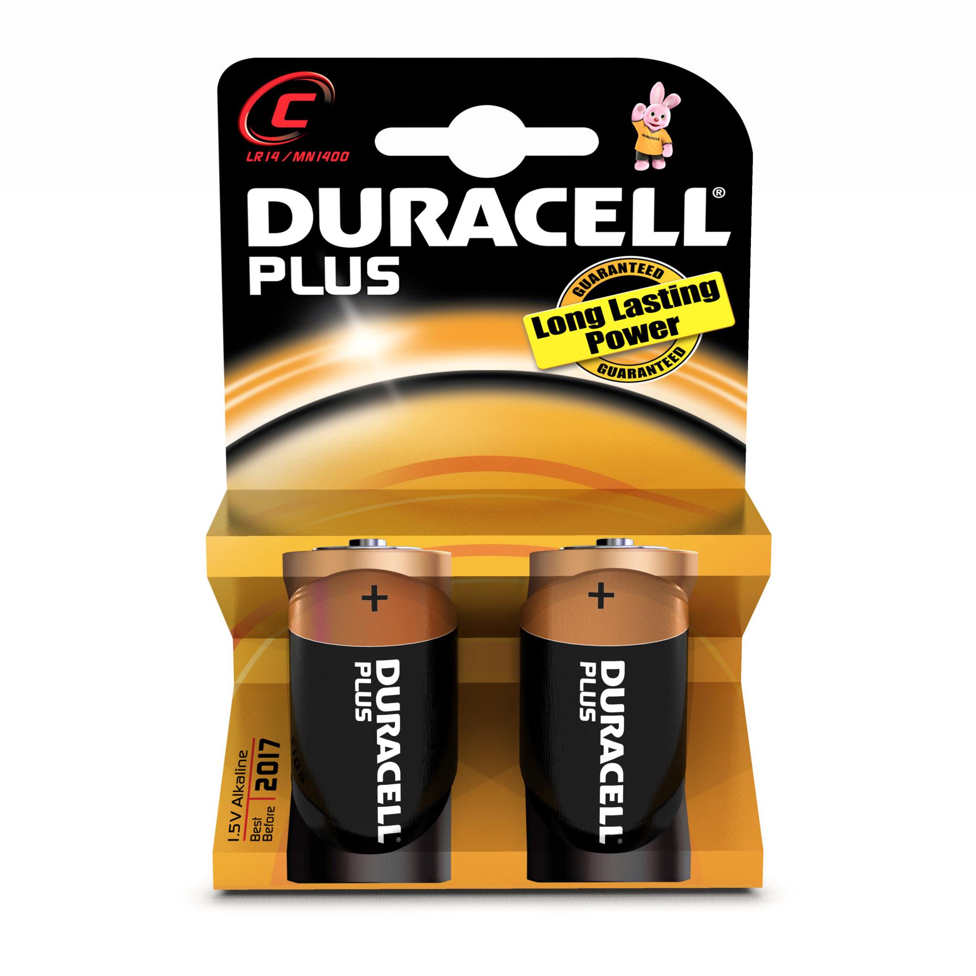 Duracell C Plus Alcalino 1.5V batteria non-ricaricabile