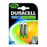 Duracell Batterij potloodcel HR03 (2) Nichel-Metallo Idruro (NiMH) 750mAh 1.2V batteria ricaricabile