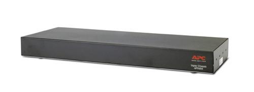 APC SmartSlot Triple Chassis Black alimentatore per computer