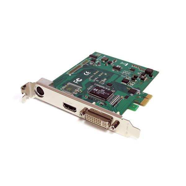 StarTech.com Scheda acquisizione video HD PCI Express 1080p30 - HDMI / DVI / VGA/ Component