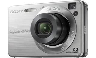 """Sony Cyber-shot DSC-W110 Fotocamera compatta 7.2MP 1/2.5"""" CCD Argento"""