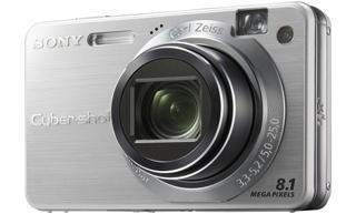 "Sony Cyber-shot DSC-W150 Fotocamera compatta 8.1MP 1/2.5"" CCD 3264 x 2448Pixel Argento"